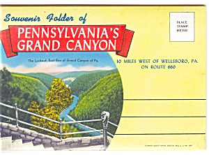 Pa's Grand Canyon Souvenir Folder