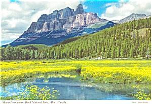 Mount Eisenhower Banff Canada Postcard (Image1)