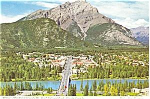 Banff Village Banff Canada Postcard (Image1)
