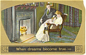 When Dreams Come True Postcard