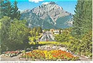 Cascade Mountain, Banff, Canada Postcard (Image1)