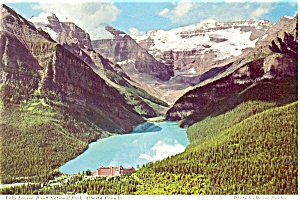 Lake Louise, Banff, Canada Postcard (Image1)
