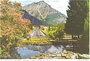 Cascade Mountain, Alt 9,840 Canada Postcard (Image1)