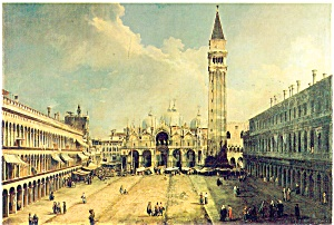 Canaletto Artwork Postcard p4648 (Image1)