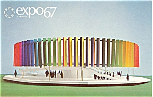 Expo 67 Kaleidoscope Pavilion Postcard p4726 (Image1)