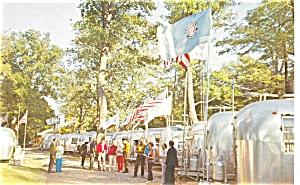 Wally Byam Caravan Club  Postcard p4749 (Image1)