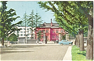 Sapporo Japan Street Scene Postcard (Image1)