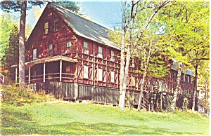 YMCA Silver Bay Lake George NY Postcard (Image1)