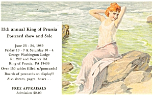 King of Prussia Post Card Show Postcard (Image1)