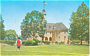 Colonial Capitol Williamsburg VA Postcard (Image1)