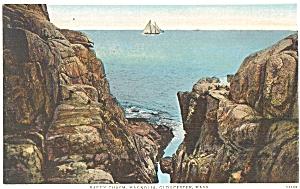 Rafe's Chasm Gloucester MA Postcard (Image1)