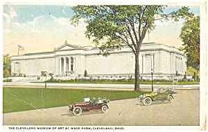 Cleveland Oh Museum Of Art Postcard P4957 1919