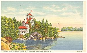 Thousand Island NY Pullman Estate  Postcard p5035 (Image1)