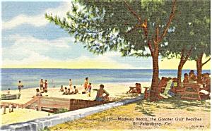 Maderia Beach St Pete Florida Postcard p5099 (Image1)