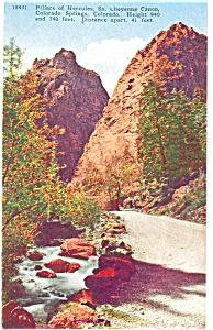 Pillars of  Hercules Colorado Postcard p5115 (Image1)