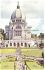 St Joseph Oratory Montreal Canada Postcard p5132 (Image1)