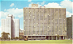 Pittsburgh Hilton Hotel Postcard p5173 (Image1)