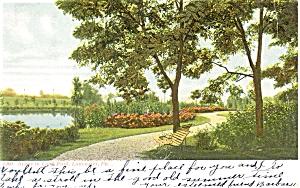 Long Park Lancaster PA Postcard p5182 1907 (Image1)
