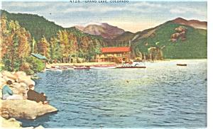 Grand Lake Colorado Postcard p5184 (Image1)