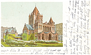 Trinity Church  Boston MA Postcard p5200 1904 (Image1)