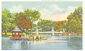 Public Park Boston MA Postcard p5202 (Image1)