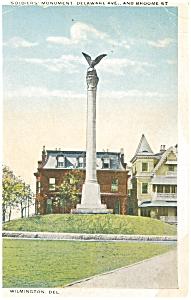 Soldier s Monument Wilmington DE  Postcard p5220 (Image1)