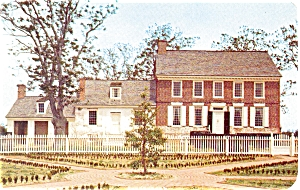 Dickinson Mansion Dover DE  Postcard (Image1)