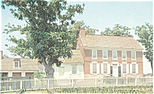 John Dickinson Mansion Dover DE  Postcard p5222 (Image1)
