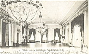 The East Room White House Postcard