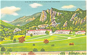 Estes Park Co The Stanley Hotel Postcard P5293