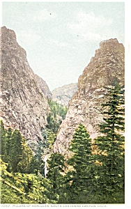 Colorado Pillars of Hercules Postcard (Image1)