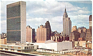 New York City United Nations Postcard (Image1)