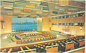 United Nations Trusteeship Council Postcard p5335 (Image1)