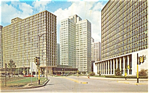 The Pittsburgh Hilton Postcard p5347 (Image1)