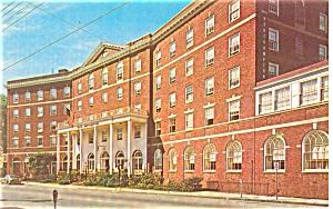 Northampton MA Wiggins Tavern Postcard p5356 (Image1)