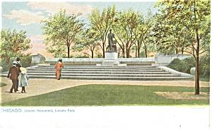 Chicago IL Lincoln Monument Tuck s Postcard p5382 (Image1)