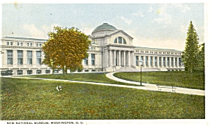 Washington DC New National Museum  Postcard (Image1)