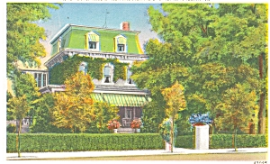 Winchester VA Birthplace Adm. Byrd Postcard (Image1)