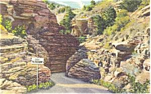 Williams Canon Colorado The Narrows Postcard p5440 (Image1)