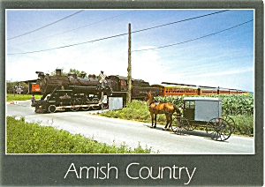 The Strasburg PA Railroad Postcard p5446 (Image1)