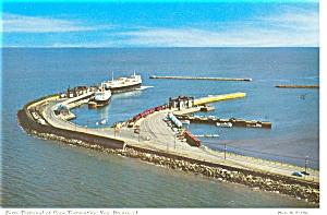 New Brunswick Ferry Terminal Postcard p5447 (Image1)
