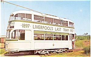 Seashore Trolley Museum Postcard P5460