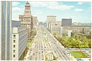 Toronto Ontario Canada University Avenue Postcard p5468 (Image1)