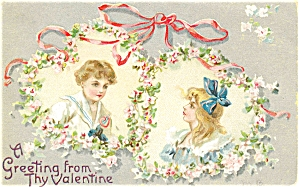 Vintage Valentines Day Tuck S Postcard P5472