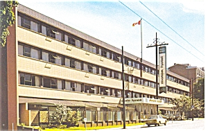 Vancouver Bc Canada Doric Howe Motor Hotel P5510