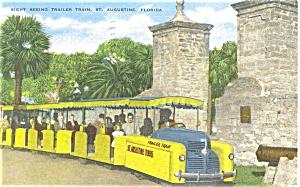 St Augustine FL Sight Seeing Train p5524 (Image1)