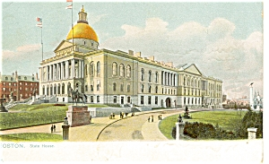 Boston, MA State House Tuck s Postcard p5533 (Image1)