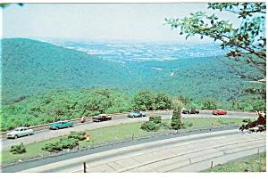 Uniontown PA Point Lookout Vintage Cars p5576 (Image1)