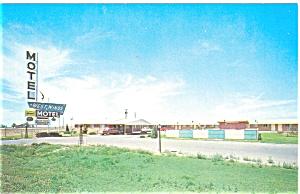 Artesia  NM  Westwinds Motel Postcard p5653 (Image1)