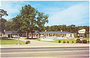 Richmond, VA, The Virginian Motel Postcard (Image1)